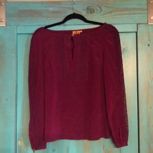 Plum colored blouse